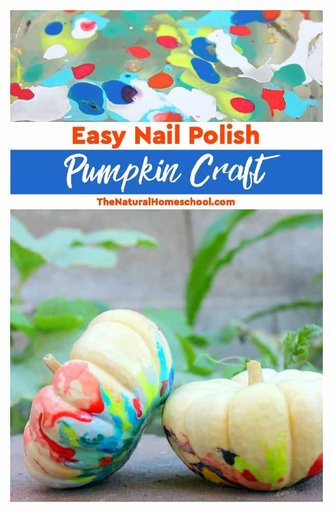 In this post, we share how we made this easy nail polish pumpkin craft for kids. You and your kids will love it!