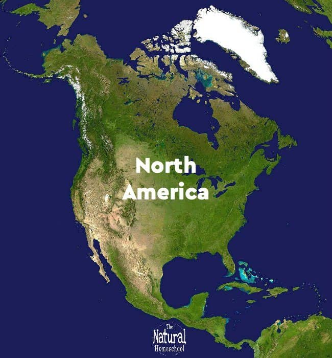 Here are some fantastic Geography lessons of North America for Kids! We show you how we learned about North America and what we learned about that wonderful continent.