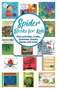 Spider Books for Kids – Activities, Costumes, Snacks, Games!