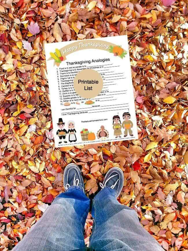 Are you having a hard time finding awesome educational Thanksgiving kid printables like Thanksgiving analogies or a Thanksgiving coloring book that you can expound on? Then this is the post for you!