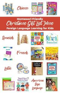 Christmas Gift List Ideas ~ Foreign Language Learning for Kids
