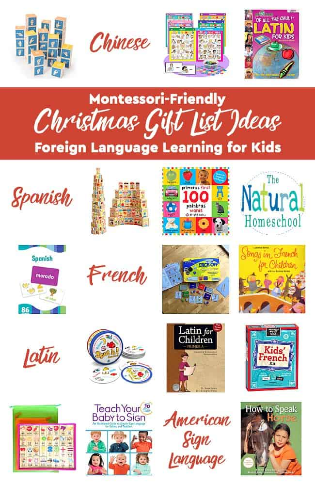 Christmas Gift List Ideas ~ Foreign Language Learning for Kids - The ...