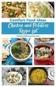 Comfort Food Ideas ~ Chicken and Potatoes Recipe List