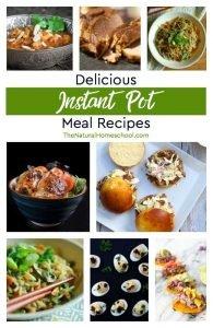 Delicious Instant Pot Meal Recipes