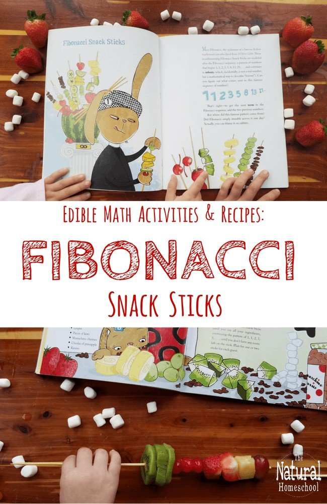 We love math picture books, especially those with edible Math activities and recipes!