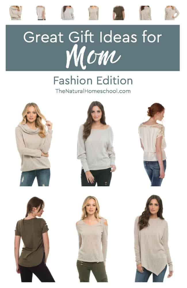 In this post, I will share with you one thing I do to find super cute fashionable clothes without spending hours and hours looking for them. These can also be a great resource of great gift ideas for mom, so be sure to share these tips with your loved ones (hint hint). :D