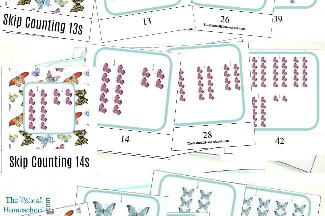 We love Math and we love the Montessori Method, so we blended the two and made some Montessori-Inspired Skip Counting Games for Kids that you and your family will enjoy using and learning from.