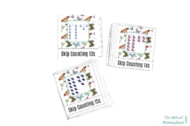 We love Math and we love the Montessori Method, so we blended the two and made someMontessori-Inspired Skip Counting Games for Kids that you and your family will enjoy using and learning from.