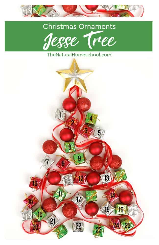 In this post, I will tell you about making Christmas ornaments for the Jesse Tree. I think that once you see how to store them and about making your own ornaments, you will enjoy this tradition every year.
