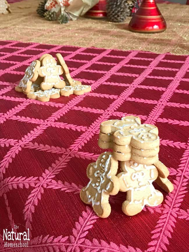 In this post, we will make some gingerbread cookie STEM activities for girls and boys to try at home this holiday season.