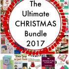 Are you ready for this amazing deal? It is calledThe Ultimate Christmas Bundle 2017!Save 92 %!