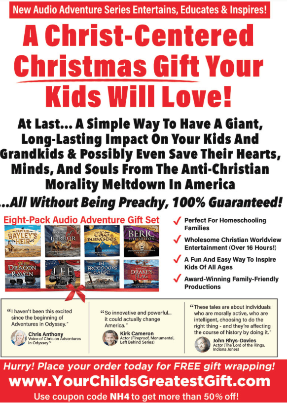 Get ready to give your kids the greatest gift this Christmas!