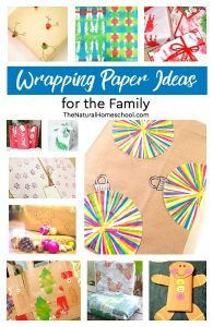 Unique Wrapping Paper Ideas for the Family