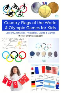 Country Flags of the World & Olympic Games for Kids