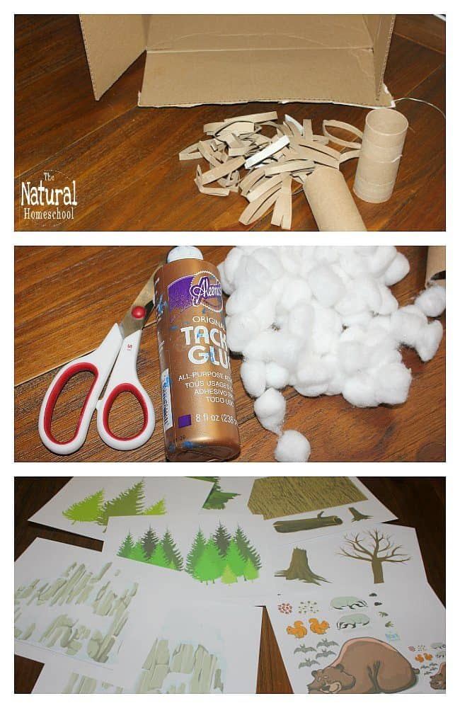 In this post, we will show you how to make a diorama of animals that hibernate in Winter! It is the perfect afternoon craft to make on out cold wintry afternoon. It is the perfect activity to add to our animals in Winter.