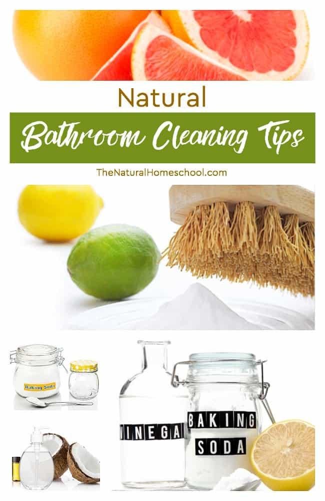 In this post, we share some very useful slides on how to avoid all of the chemicals and list some great natural bathroom cleaning tips.