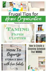 Frugal Tips for Home Organization