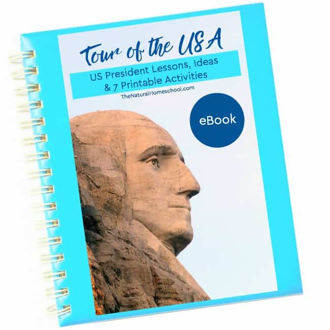 Tour of the USA ~ Printable Presidents eBook 1