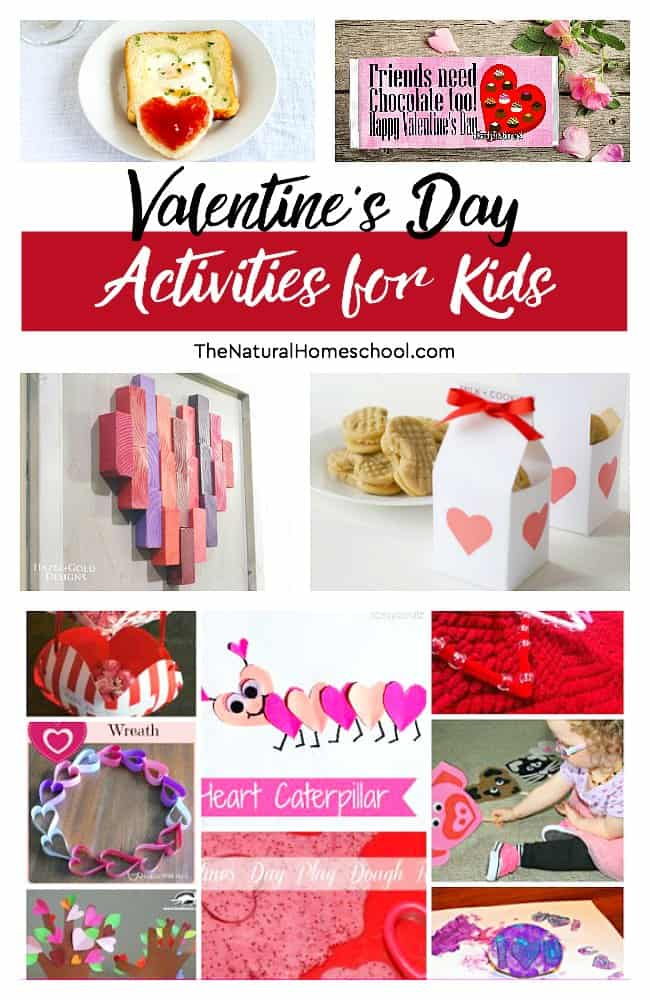 This is an awesome list of posts that bring you beautiful advice to make Valentine's Day Activities for Kids a wonderful experience. Include your children in the reading. What do they think?