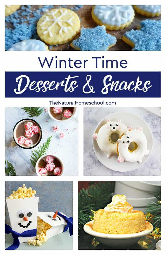 This is an awesome list of posts that bring you beautiful advice to make Delicious Winter Time Desserts & Snacks a wonderful experience. Include your children in the reading. What do they think?