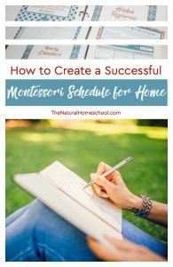 How to Create a Successful Montessori Schedule for Home PART 1