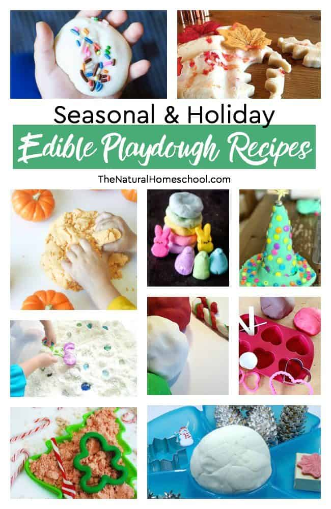 In this post, we'll expound on our fun ideas from our edible slime, playdough, sand and paint recipes to bring you the best list of edible playdough recipes!