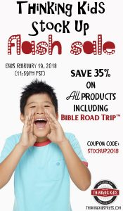 Thinking Kids Storewide Sale! See coupon code here