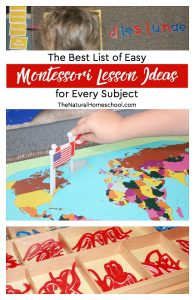 Easy Montessori Lesson Ideas for Every Subject (Free Montessori Curriculum Printable)
