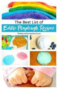 The Best List of Edible Playdough Recipes