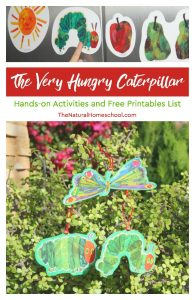 The Very Hungry Caterpillar Activities and Free Printables List