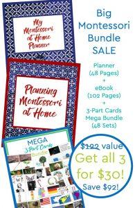 Montessori at Home SUPER MEGA Printable Starter Bundle