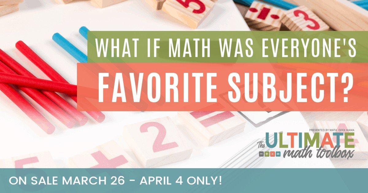 When math is relatable with cool Math games for kids, it becomes understandable. Armed with the resources of The Ultimate Math Toolbox, you can find new joy in your homeschool as you watch the smiles – and the confidence – begin.