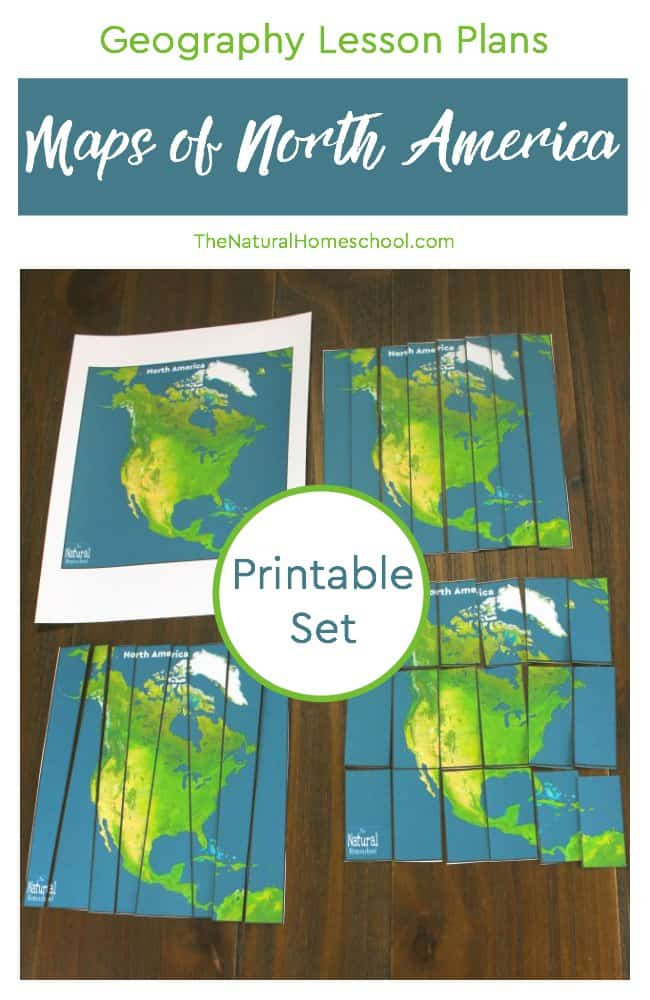 Have your kids learned about the seven continents of the world? Aren't they fascinated about the vastness and variety of the world we live in? In this post, we will show you some Geography Lesson Plans that include some printable maps of North America for kids to put together.