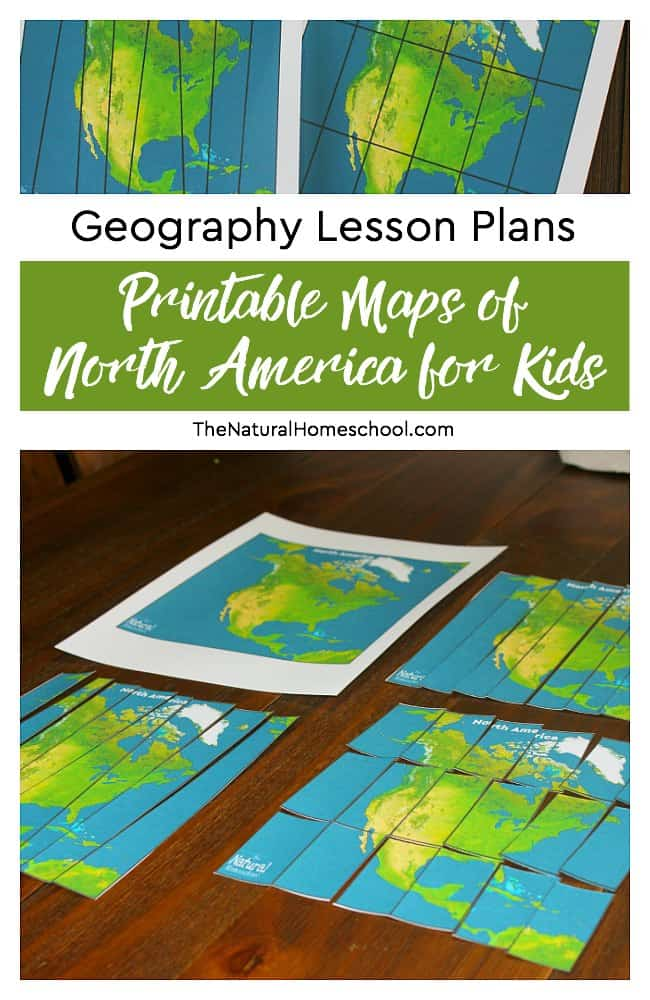 image about Printable Maps for Kids identified as Geography Lesson Strategies ~ Printable Maps of North The united states for