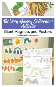 The Very Hungry Caterpillar Activities ~ Giant Magnets and Posters