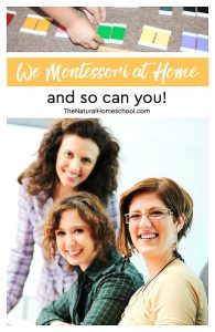 We Montessori at Home and so can you! {coupon code}