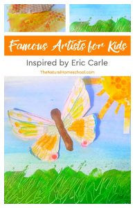 Famous Artists for Kids ~ Lessons Inspired by Eric Carle