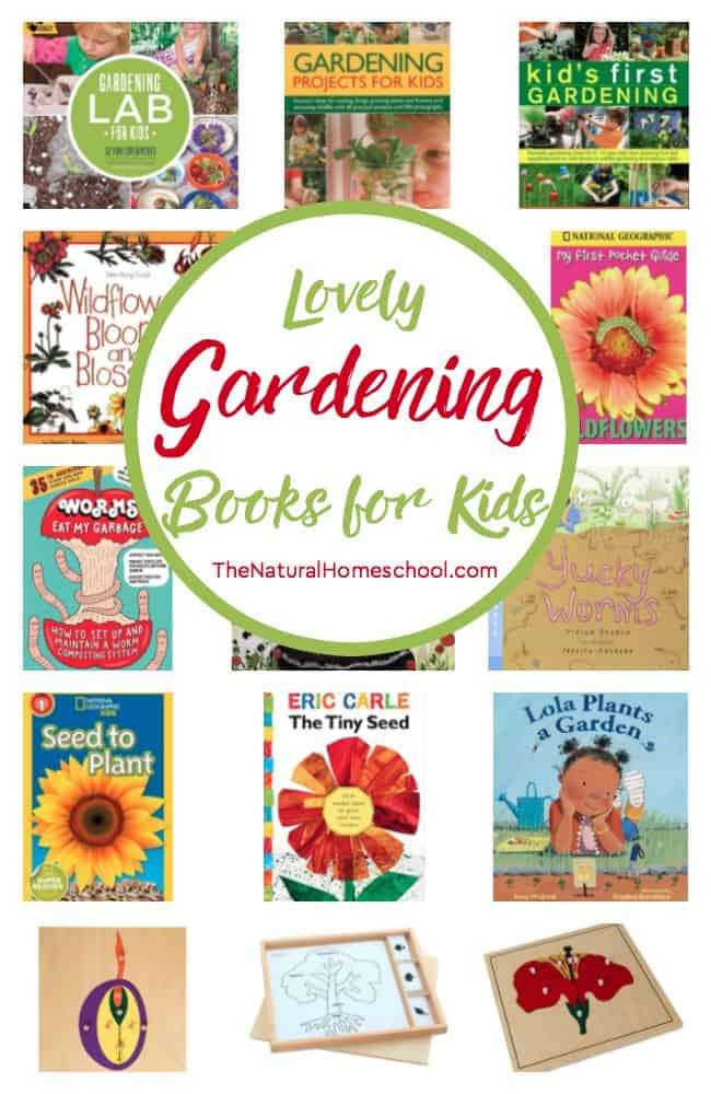 We can't wait to eat the produce we get from our very own garden! In this post, we share some of the fun gardening books for kids that we found interesting to read together.