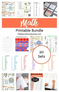 Fantastic Printable Math Bundle {20 Sets}