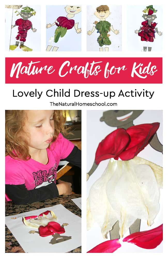 As soon as the weather is nice and plants start showing signs of life, we immediately look for Awesome Nature Crafts for Kids to enjoy! In this post, we will show you some nature art for kids to make with natural materials like leaves, flowers and even dirt.