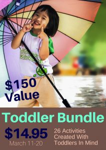 Keep Toddlers Learning while you Homeschool