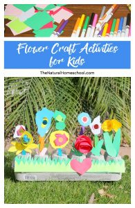 Spring Flower Craft Activities for Kids