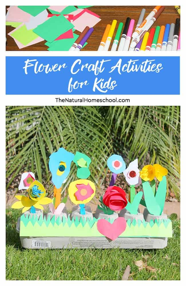 In this post, we will show you the flower craft activities for kids to make and get creative.We love craft activities for kids to enjoy making and display proudly at home of happily gift to a loved one! This is a super fun and adorable Spring flower art and craft activities for kids!