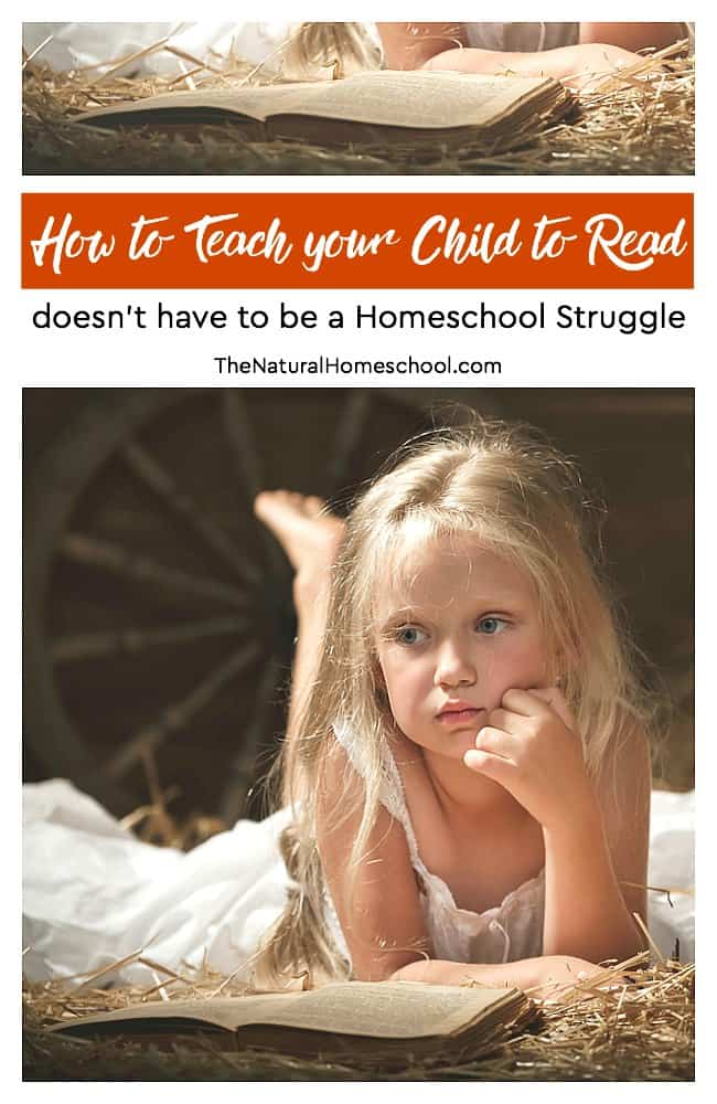 The #2 struggle, hands-down, is how to teach your child to read. I can say I agree with you. Many parents keep their kids at home, then send them to school for a year so they can learn to read and then take them back once they know to read.