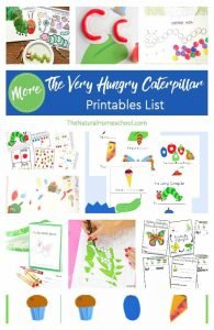 MORE Eric Carle ~ The Very Hungry Caterpillar Printables List