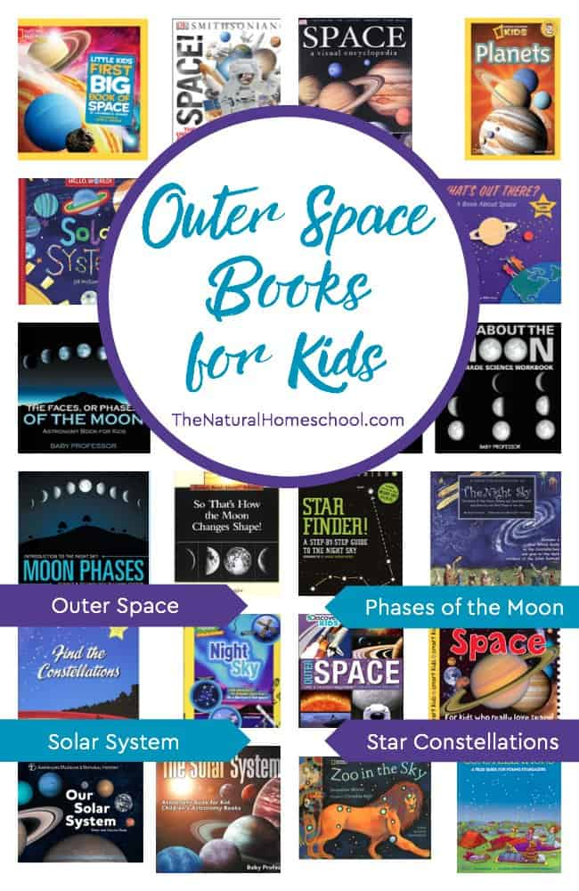 Take a look at this awesome list of books about the Solar System for kids! Believe me, these are the best outer space books for kids that we've read so far!