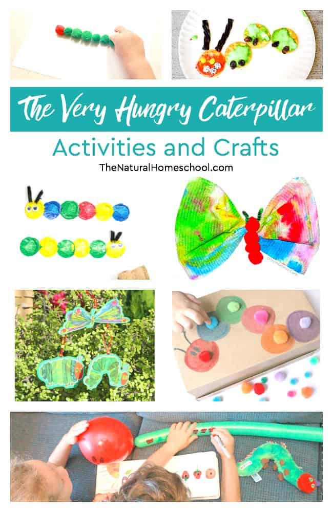 My kids loved this list! We went through this great set of The Very Hungry Caterpillar Activities and Crafts! We made so many fun ones!
