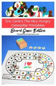 Eric Carle ~ The Very Hungry Caterpillar Printables ~ Board Game Edition