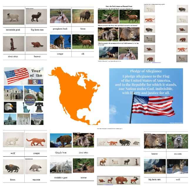 Welcome to our Tour of the USA ~ Map of the United States Printable Bundle! Let us show you this amazing unit on the beautiful country of the United States. It will make your life so much easier and your kids will learn so much with all of these wonderful activities!