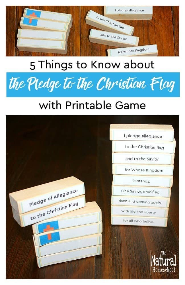 We are excited to give you some things to know about the Pledge of allegiance to the Christian flag. We explain the value of it and how to incorporate it into your daily life.